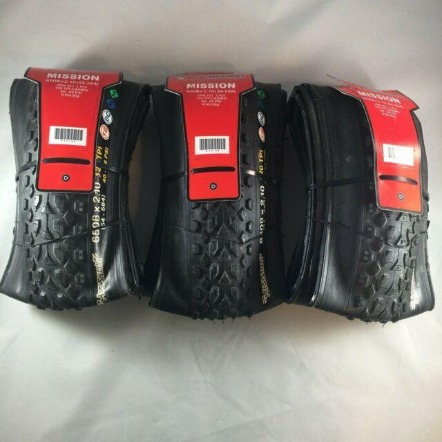 54-584 ISO Vee Tire Mission 27.5 x 2.10 120 TPI Folding MTB 650B New W//Tags!