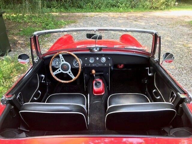 MG Midget, Benzin, 1966