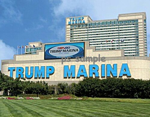 Atlantic City Flexible Fridge MAGNET New Jersey TRUMP MARINA