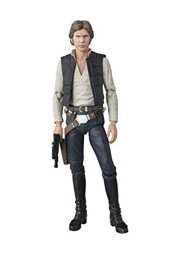 BANDAI S.H.Figuarts Star Wars Han Solo A NEW HOPE JAPAN OFFICIAL