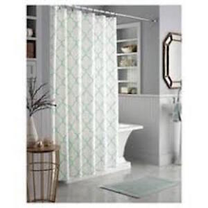 Image Is Loading Threshold Mint Trellis Shower Curtain 72 034 X