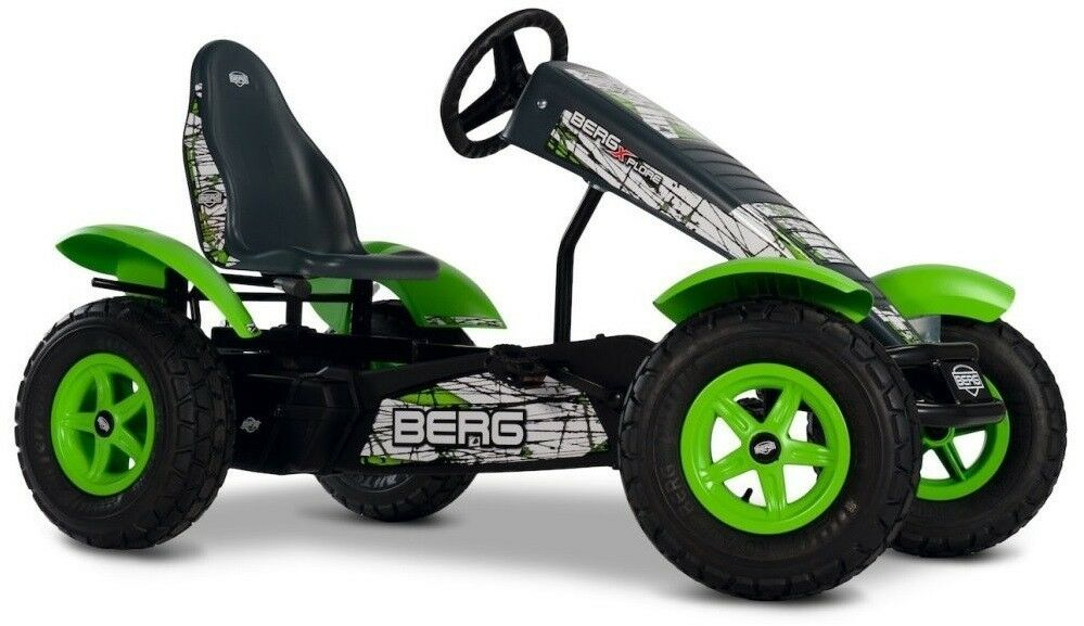 Berg X-plore BFR-3 Off-Road Kids Pedal Car Go Kart Green 5+ Years NEW