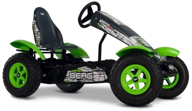 berg x plore bfr 3 off road kids pedal car go kart green 5 years ebay