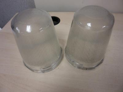 Cooper Crouse Hinds G24 Lighting Fixture Clear Glass Globe for Hazardous Fixture