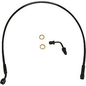"Magnum XR Upper Brake Line 28"" Black SBB1507-28"