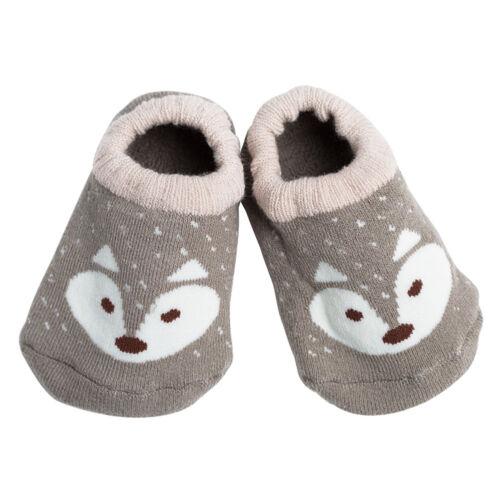 1 Pair Baby Boy Girl Cartoon Socks Anti-slip Sock Floor Slipper Shoes Boots