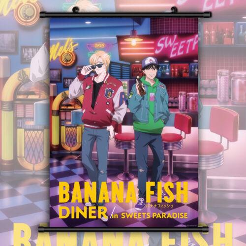 Banana Fish Ash Lynx Anime Manga Wallscroll Poster Kunstdrucke Bider Drucke