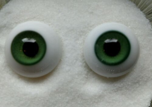 small glass doll eyes 8mm Green Popular size 8mm Glass Paperweight Doll Eyes