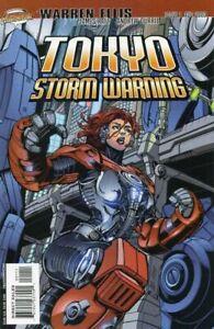 DC/Cliffhanger: Tokyo Storm Warning #1 - #3, Warren Ellis