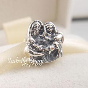 Pandora Charms Weihnachten.Details Zu Holy Family Authentic Pandora Christmas Jesus Nativity Silver Charm Bead 791369