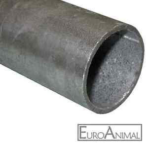 Zaun-Pfosten-verzinkt-48-3x2-500mm-bis-2000mm-Stahl-Rohr-Zaun-Pfahl-1-1-2-034-Zoll