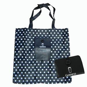 Guinness-Black-White-Spot-Fold-Up-Shopper-Bag