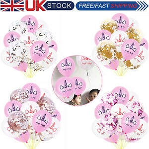 15pcs-Unicorn-12-034-Latex-Ballons-Mariage-Fete-D-039-Anniversaire-Decoration-Helium-Air