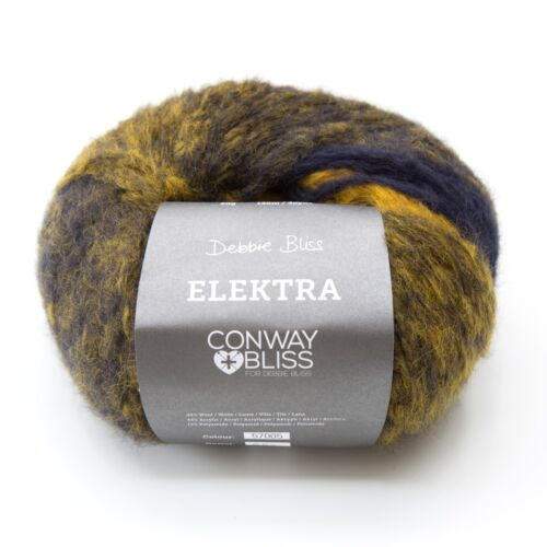 Conway /& Bliss Elektra 44/% Acrílico 1 X 50g 44/% lana 12/% Poliamida