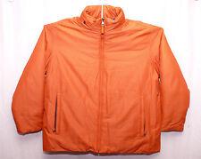 Marc New York Andrew Marc Men's Orange Duck Down Coat Jacket Parka MSRP $375