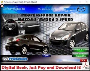 Workshop Manual Or Repair Manual Professional Mazda 3 Mazda Speed 2009 2013 Ebay