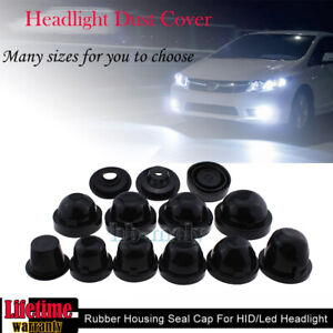 2x-Rubber-Housing-Seal-Cap-Dust-Cover-For-LED-HID-Headlight-Retrofit-Aftermarket
