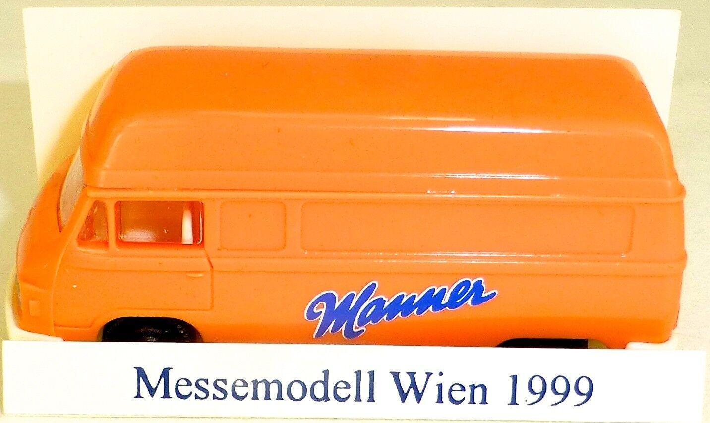 Manner adgreenising vehicle worldwide vienna International Fair 1999