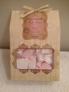 BEAU JARDIN BATH ROCKS - ROSE & GERANIUM - SEALED 12 OZ BATH SALTS ...