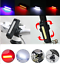 COB Bicycle Front Rear Tail LED Light USB Rechargeable MTB Bike Safety Lamp