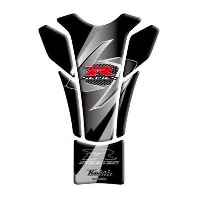 Keiti Slimline Motorcycle Tank Pad Protector Sticker Yamaha Black TYM310K