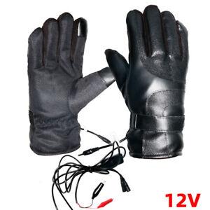 12V-Motorrad-Heizhandschuhe-Beheizte-Handschuhe-Wasserdicht-Warm-Winter-DE