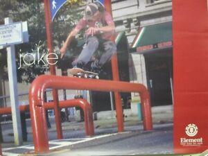Jake-Rupp-200-Element-Skateboard-promotional-poster-Excellent-New-Old-Stock