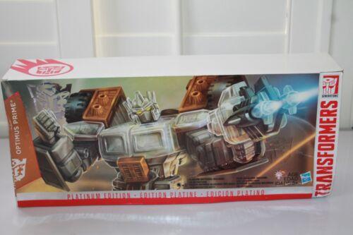 Optimus Prime Année de la chèvre Platinum Edition Boîtier Endommagé Scellé