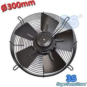 3s Ventilatore Ventola Assiale Premente Ø 300 Mm 90 W Motore Monofase 220v Nuovo
