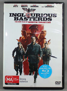 INGLOURIOUS-BASTERDS-2009-DVD-VERY-GOOD-TO-EXCELLENT-CONDITION