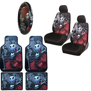 Image Is Loading Nightmare Before Christmas Car Truck Front Rear Floor