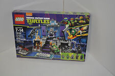 LEGO SET 79122 TMNT TEENAGE MUTANT NINJA TURTLES: SHREDDER'S LAIR RESCUE *NEW*