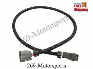 o2 oxygen sensor extension harness 32 4 wire fits honda acura rh ebay com honda o2 sensor extension harness oxygen sensor extension harness mr2 spyder