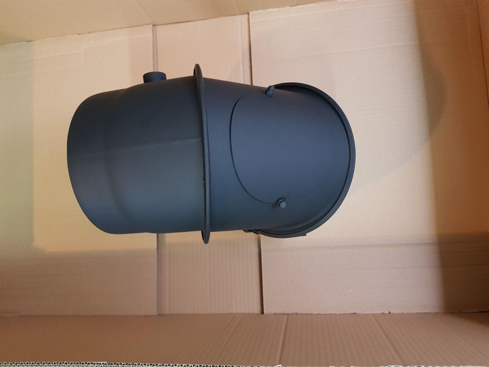 SCAMBIATORE GAS di scarico fumi tubo scambiatore di calore acqua DN 200 arco leader