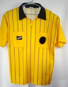 44f5f36eb Image is loading Official-Sports-International-Soccer-Jersey-USSF-Referee -Yellow-