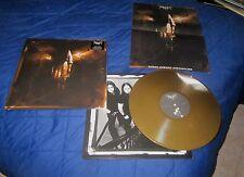 FORGOTTEN TOMB under saturn retrograde LP first press gold vinyl rare xasthur