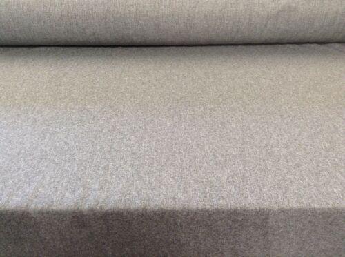 Argyle Grey Herringbone  orTweed Wool Type Curtain //Upholstery Fabric