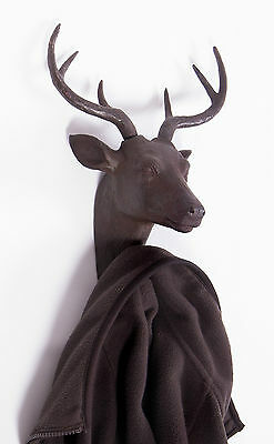 Deer Coat Hook - Wall Mounted Hook Wall Hook Wall Hanging Animal Hook