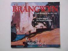 FRANK BRANGWYN ARTIST PAINTER PRINTMAKER BANGOR EXHIBITION CATALOGUE SIGNED