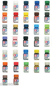 Tamiya-Enamel-Paint-10ml-Mini-Bottle-Gloss-Color-X1-X34