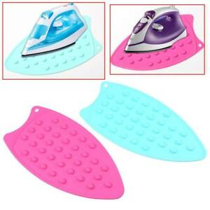 Silicone Iron Stand Mat Rest Ironing Pad Helpers Board Heat Resistant Deck Dd Ebay