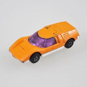 MATCHBOX-SUPERFAST-Mazda-rx500-no-66-1971-Lesney-Products-Orange