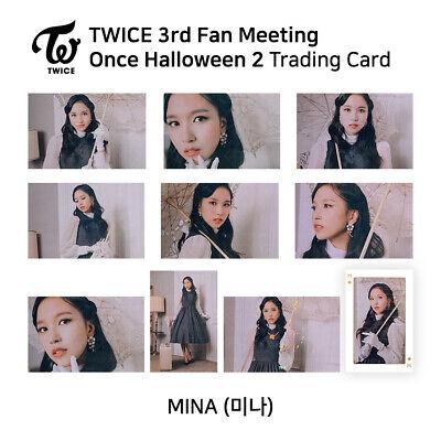 TWICE Once Halloween 2 /'Twice Classic/' SANA #22 Trading Photocard OFFICIAL