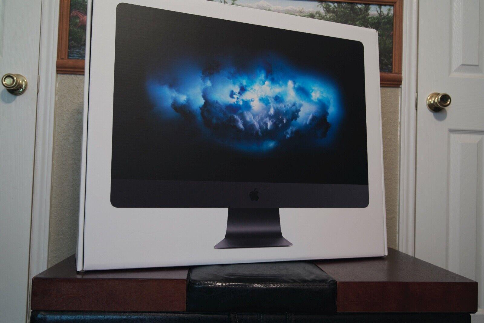 iMac Pro 3GHz 10-core, 64GB Memory, 1TB SSD, Radeon Pro Vega 64 with 16GB HBM2. Buy it now for 4799.00