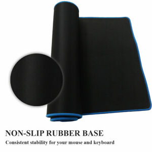 Large-Cloth-Extended-Rubber-Gaming-Mouse-Desk-Pad-Mat-80x40cm-Office-Keyboard-UK