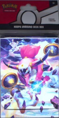 Pokemon HOOPA UNBOUND Deck Box BRAND NEW & SEALED!