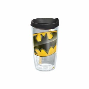 Tervis Batman Wrap 16 Oz Tumbler Kids Travel Mug Cup With