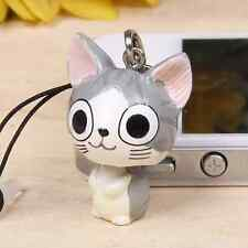 Cute Chi's Sweet home Cat Phone Ear Anti dust Jack plug cap Kawaii dangle charm