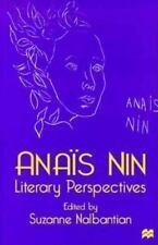 Anais Nin: Literary Perspectives-ExLibrary