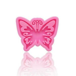 Butterfly Keychains Silicone Mold DIY Resin Epoxy Mold Pendants For Jewelry B5T3